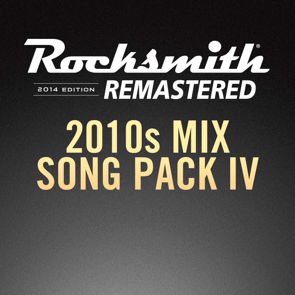Rocksmith® 2014 – 2010s Mix Song Pack IV