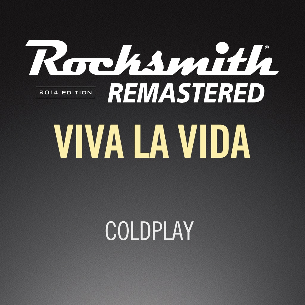 Rocksmith® 2014 – Viva La Vida - Coldplay