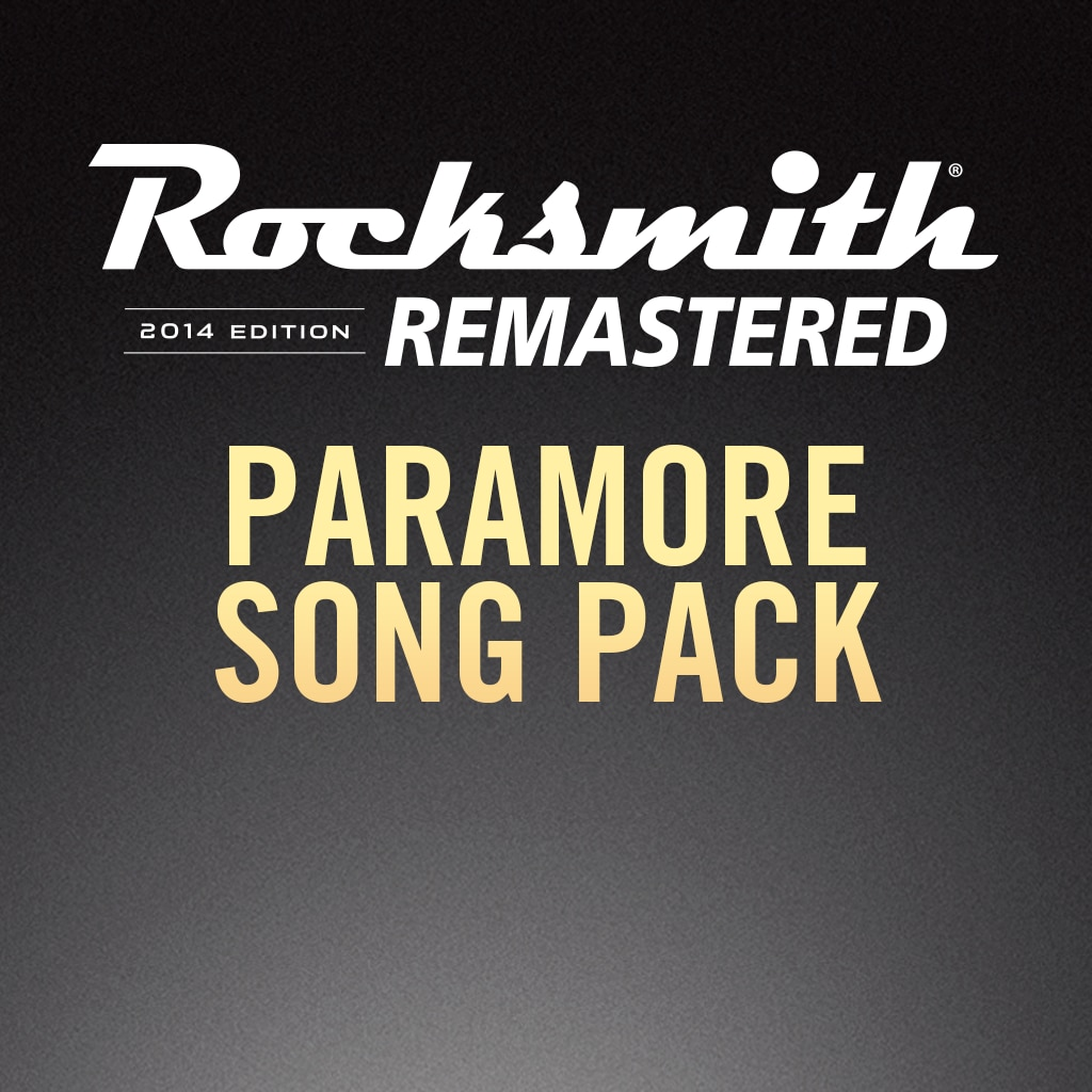 Rocksmith® 2014 – Paramore Song Pack