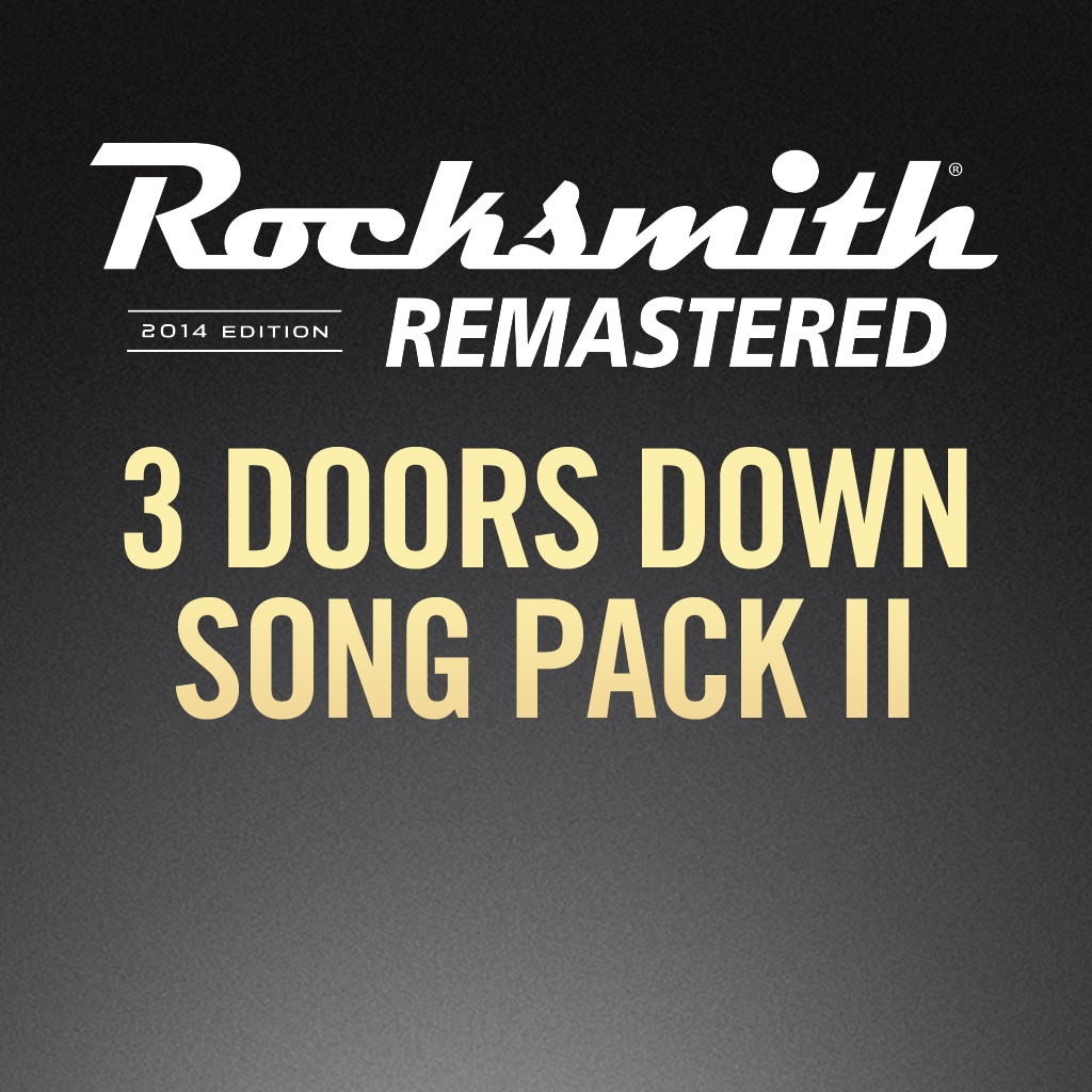 Rocksmith® 2014 – 3 Doors Down Song Pack