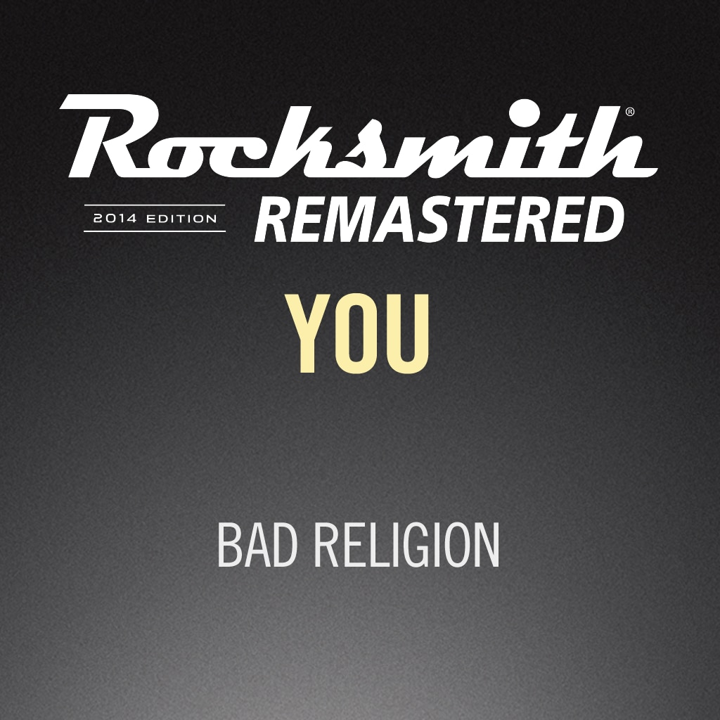 Rocksmith® 2014 – You - Bad Religion