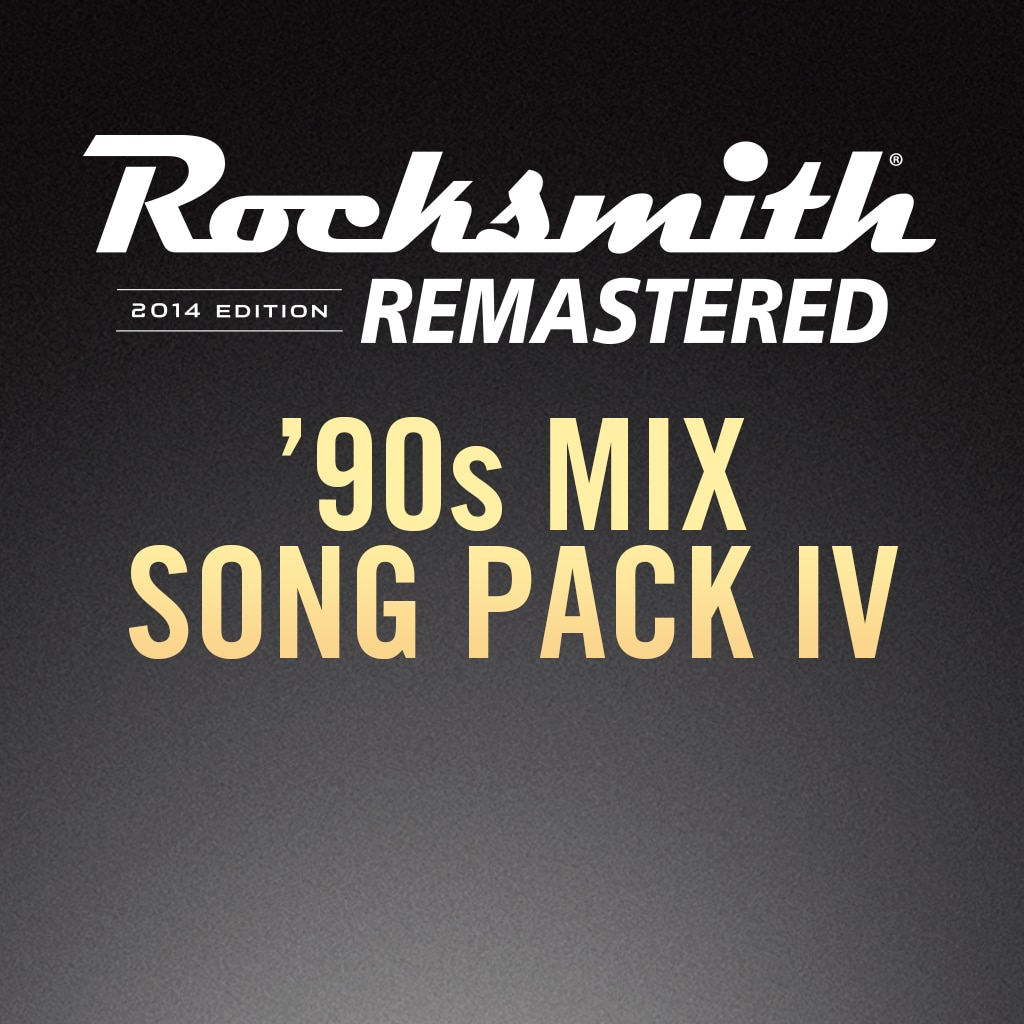 Rocksmith® 2014 – 90s Mix Song Pack IV DLC