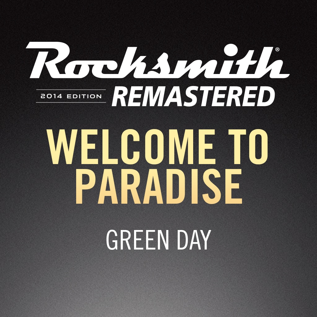 Rocksmith® 2014 – Welcome to Paradise - Green Day