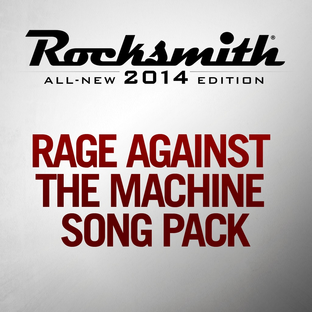Rage Against The Machine Complete Song Pack