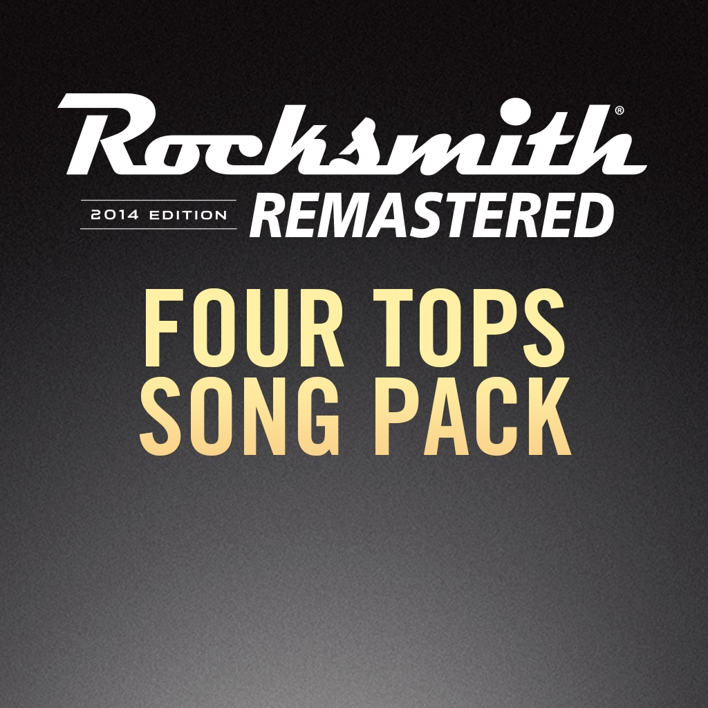 Rocksmith® 2014 – Four Tops Song Pack