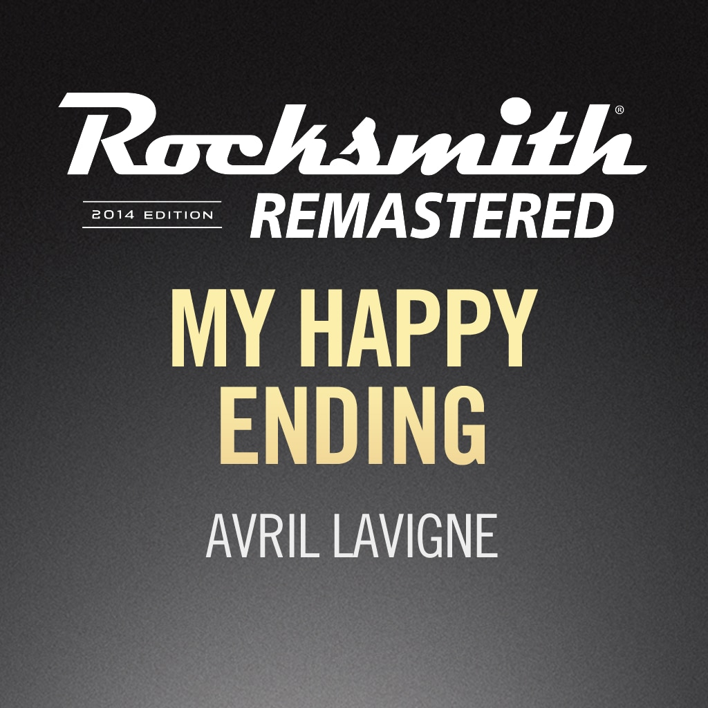 Rocksmith® 2014 – My Happy Ending - Avril Lavigne