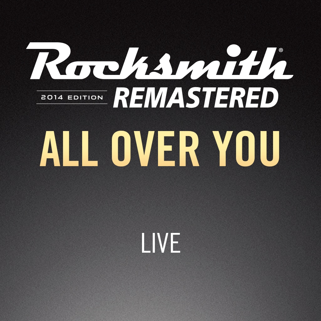 Rocksmith® 2014 –  All Over You - Live