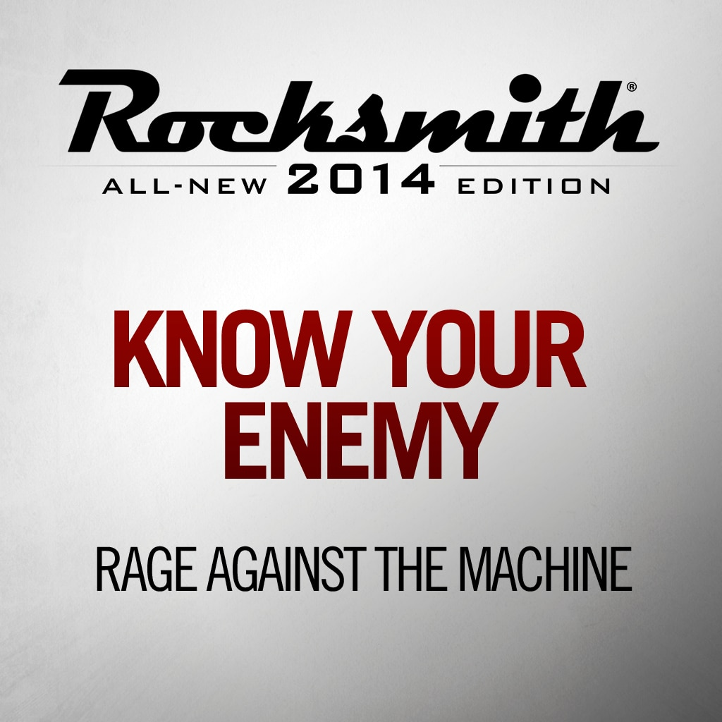 Know Your Enemy - Rage Against The Machine