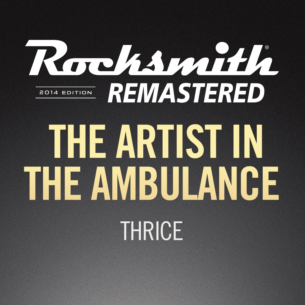 Rocksmith® 2014 – The Artist in the Ambulance - Thrice