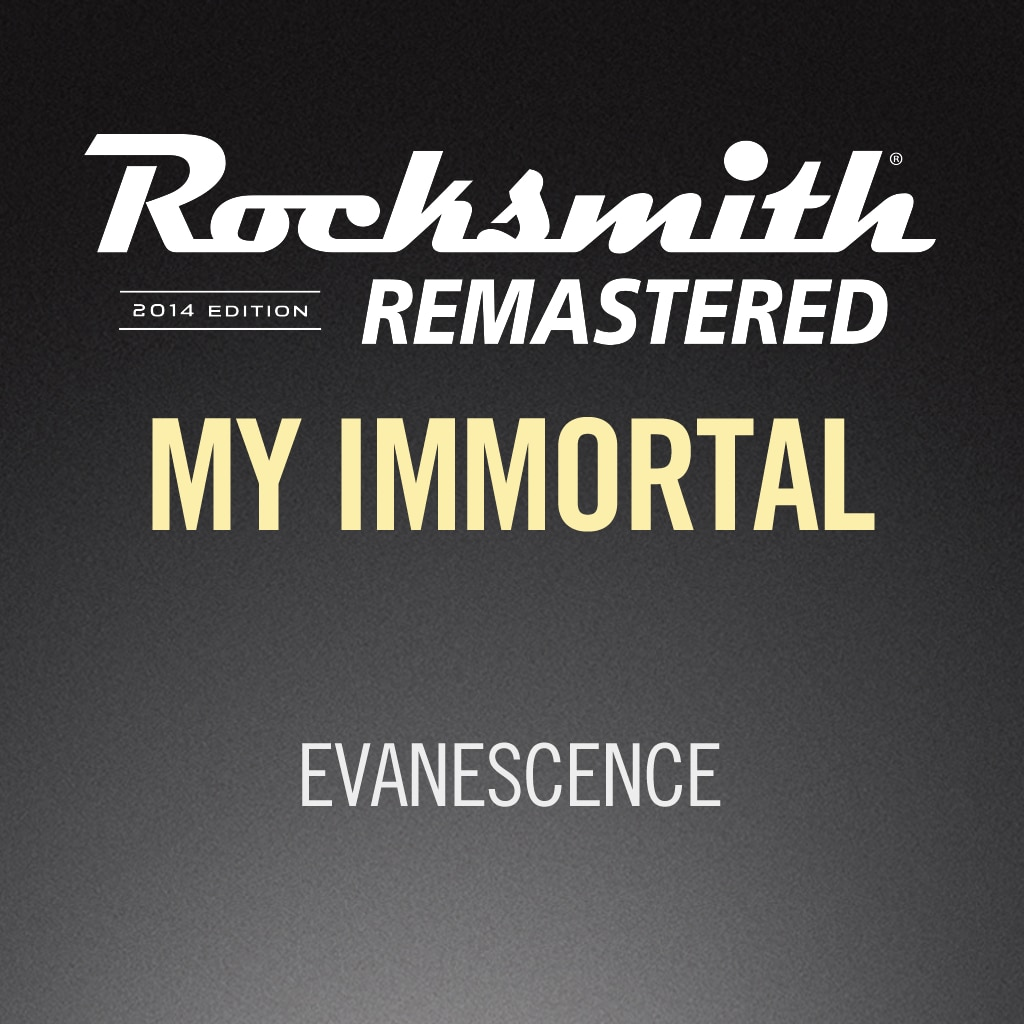 Rocksmith® 2014 – My Immortal - Evanescence