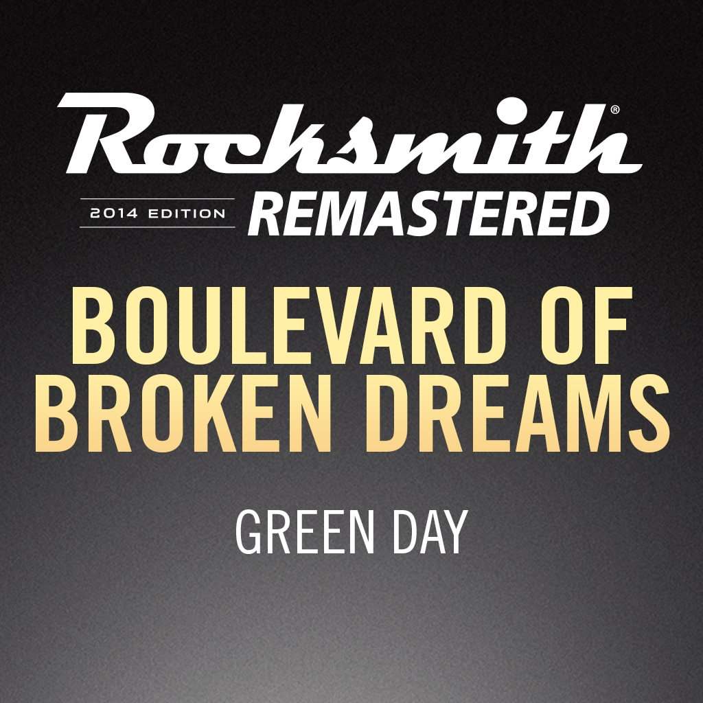 Rocksmith® 2014 – Boulevard of Broken Dreams - Green Day