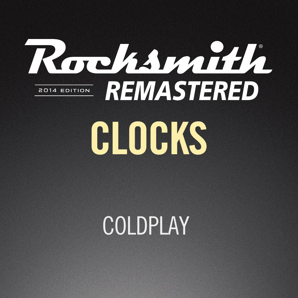 Rocksmith® 2014 – Clocks - Coldplay