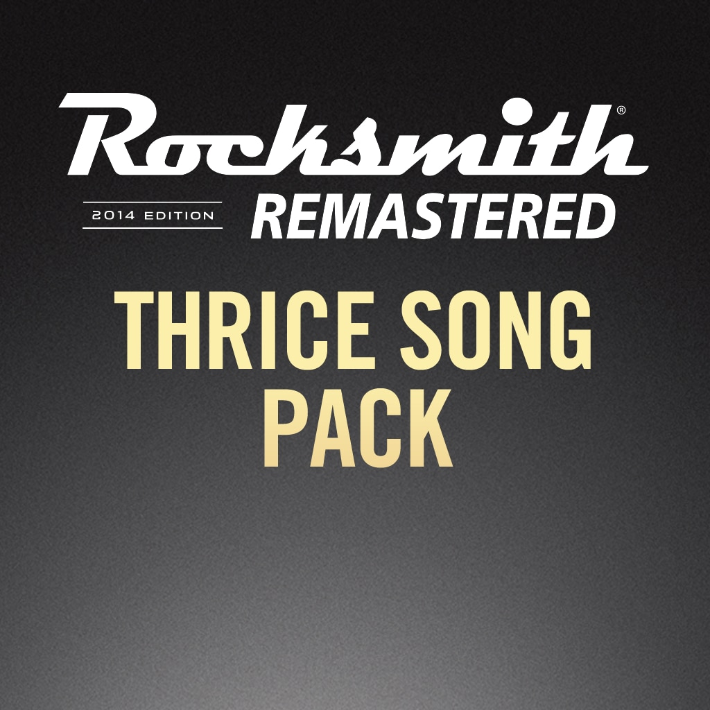 Rocksmith® 2014 – Thrice Song Pack