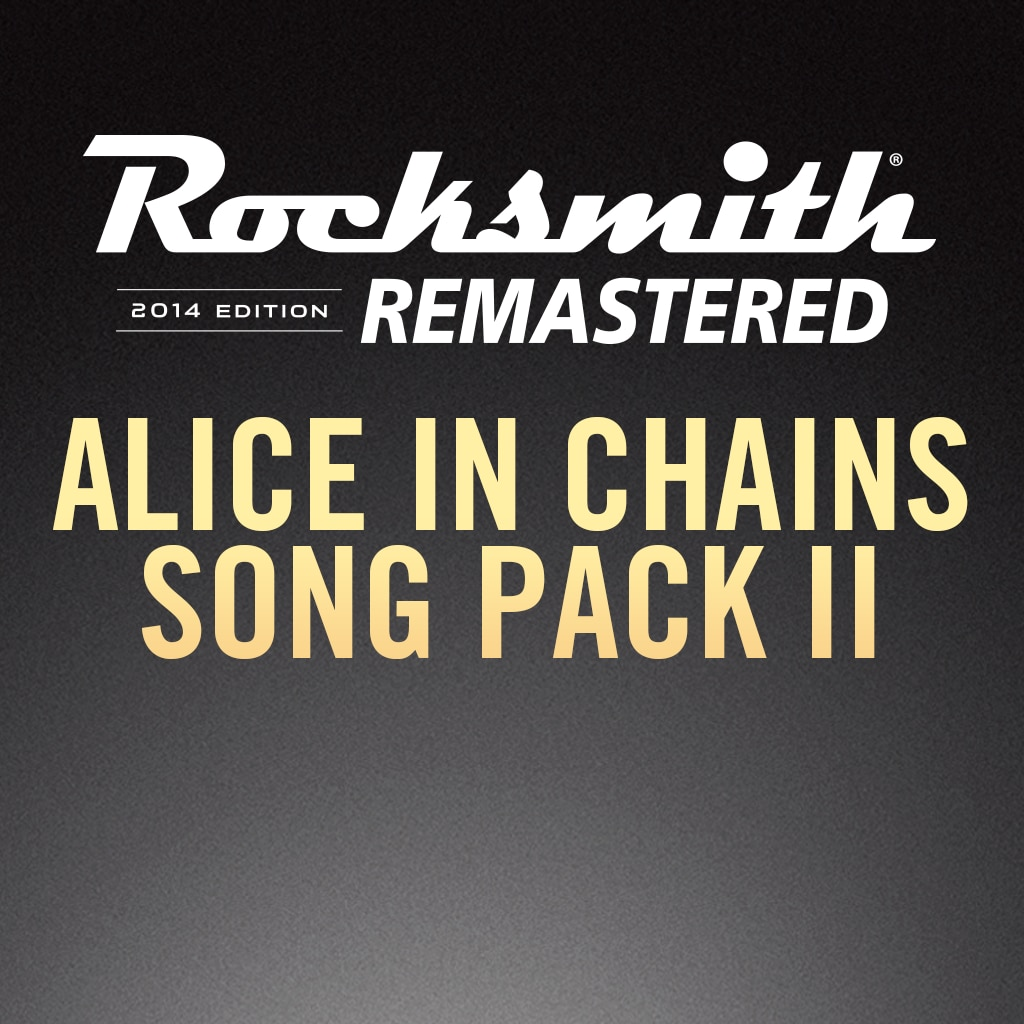 Rocksmith® 2014 – Alice in Chains Song Pack II