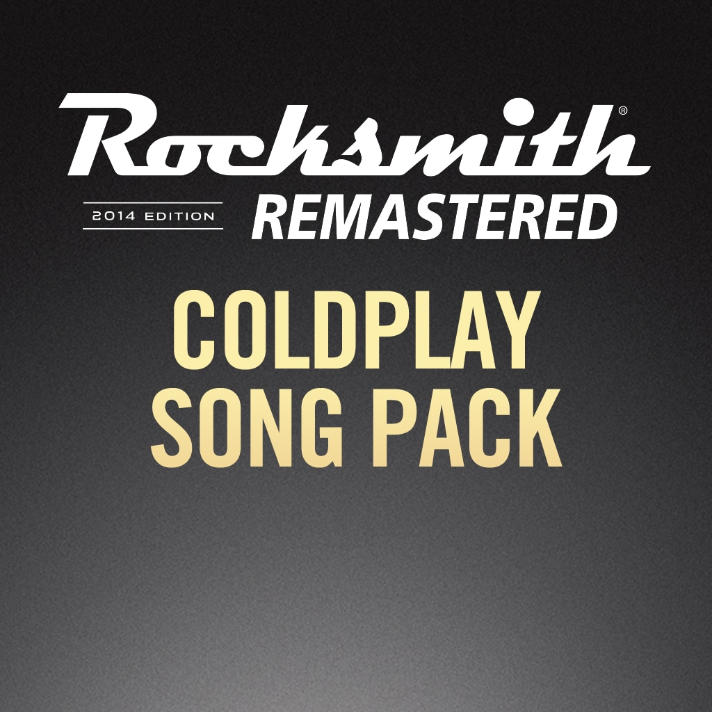 Rocksmith® 2014 – Coldplay Song Pack
