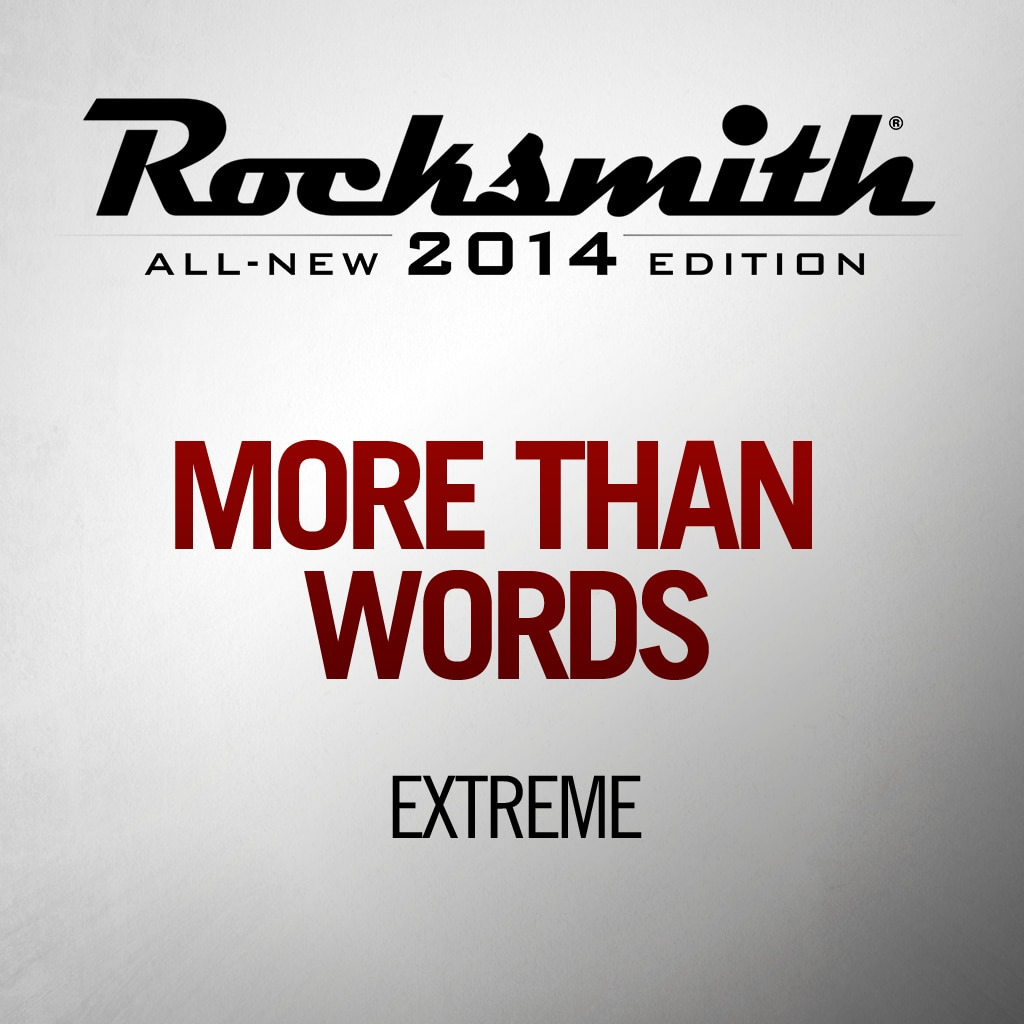 More Than Words - Extreme