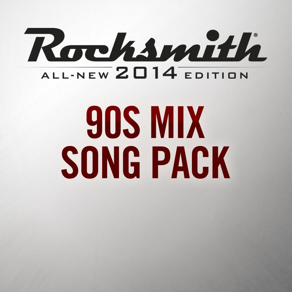 Rocksmith® 2014 – 90s Mix Song Pack