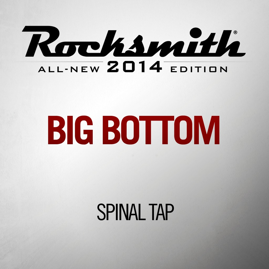 Big Bottom - Spinal Tap