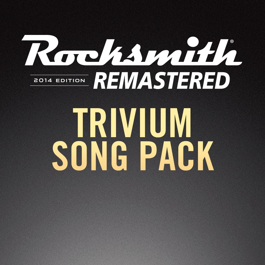 Rocksmith® 2014 – Trivium Song Pack
