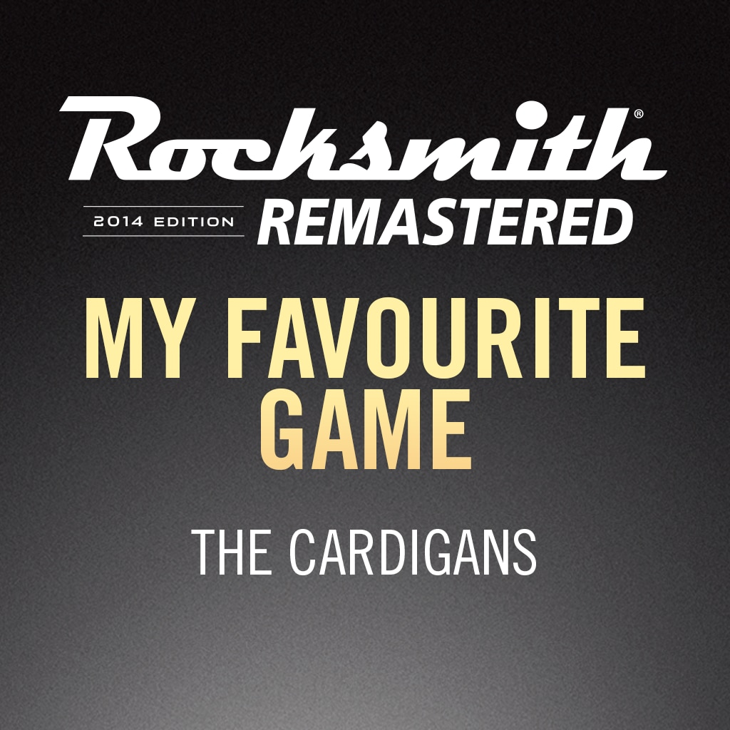 Rocksmith® 2014 – My Favourite Game - The Cardigans