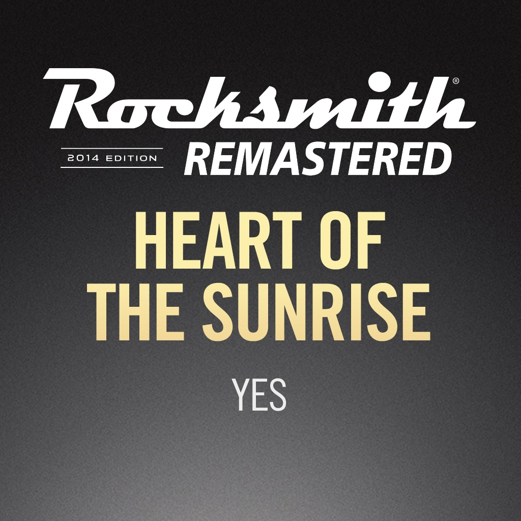 Heart of the Sunrise - Yes
