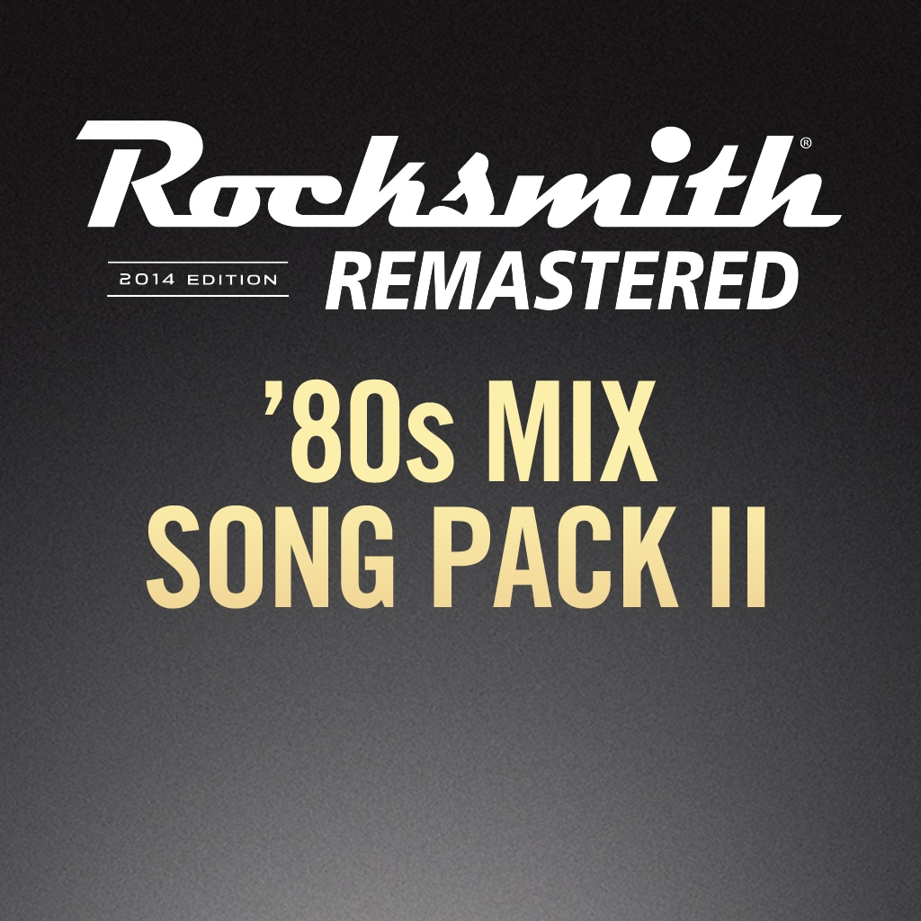 Rocksmith® 2014 – 80's Mix Song Pack II
