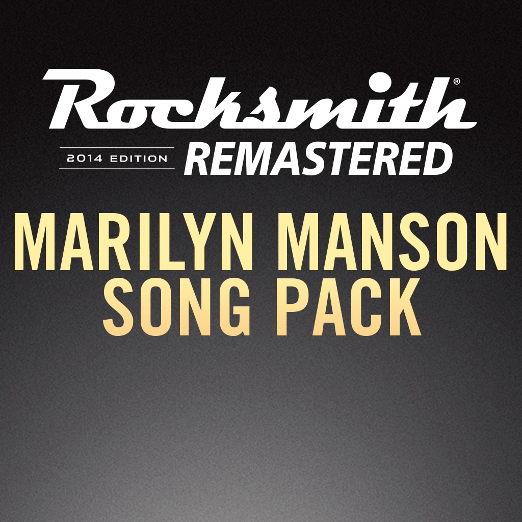 Rocksmith® 2014 – Marilyn Manson Song Pack