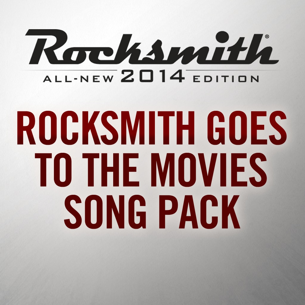 Rocksmith Goes To The Movies Song Pack