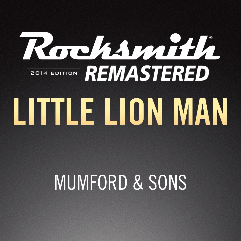 Rocksmith® 2014 – Little Lion Man - Mumford & Sons