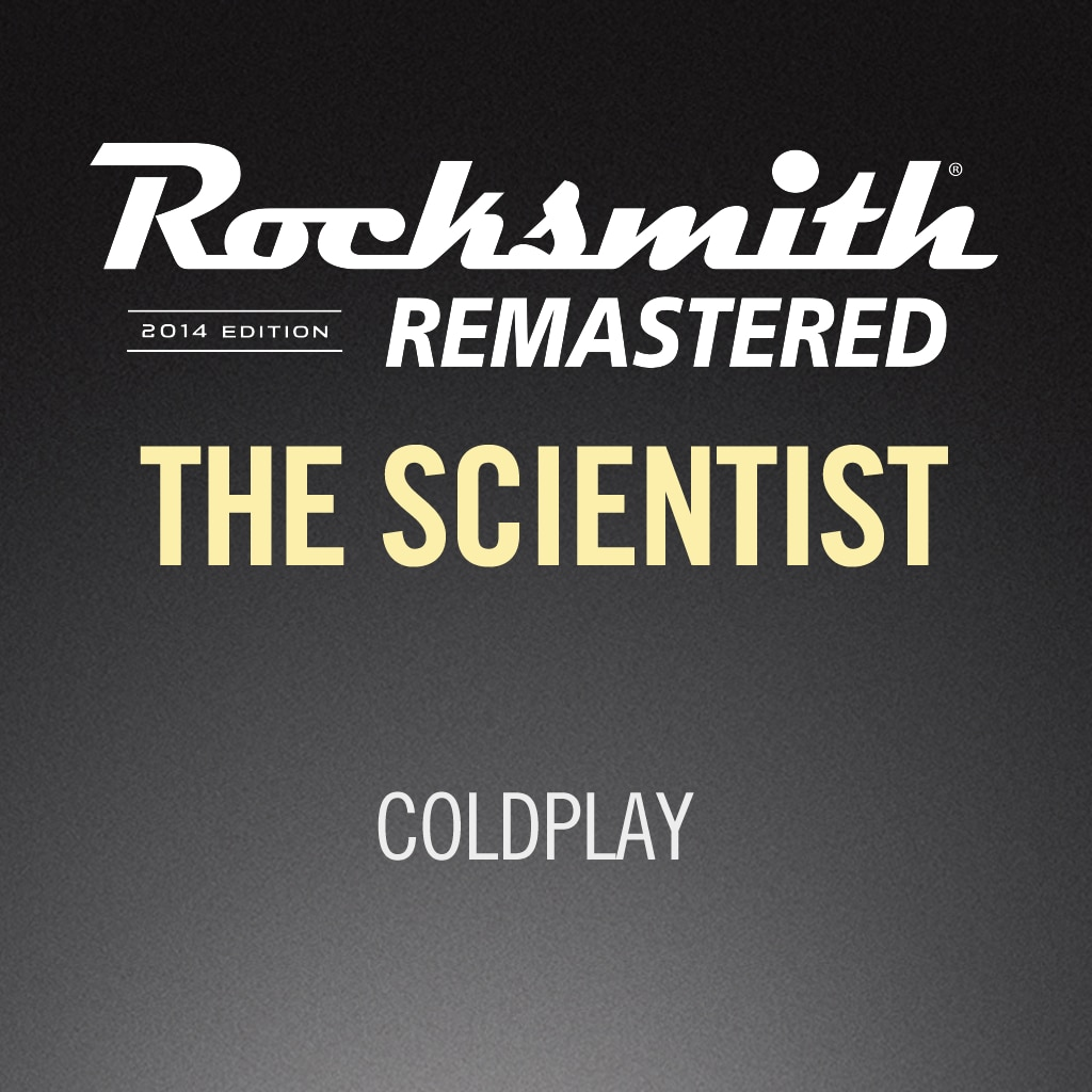 Rocksmith® 2014 – The Scientist - Coldplay