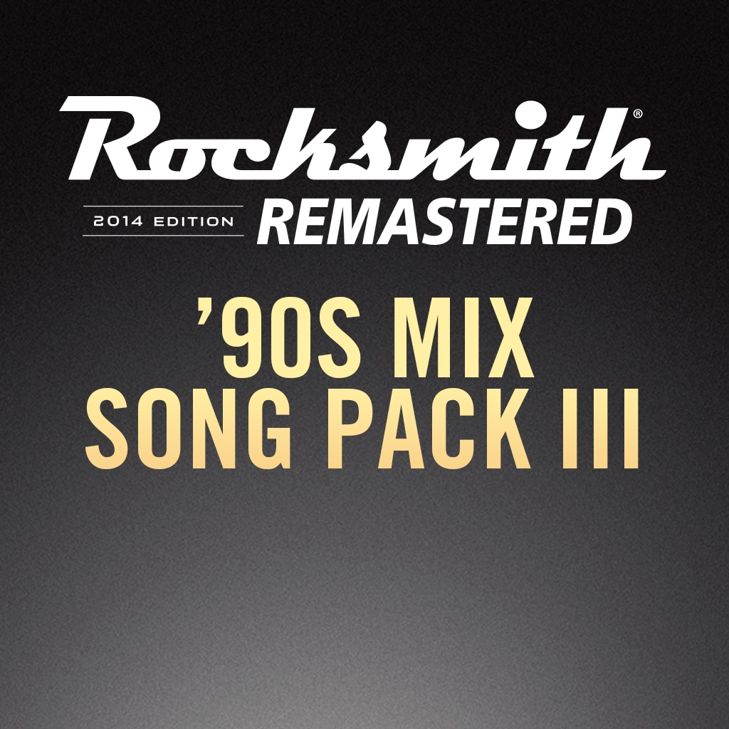 Rocksmith® 2014 – 90s Mix Song Pack III