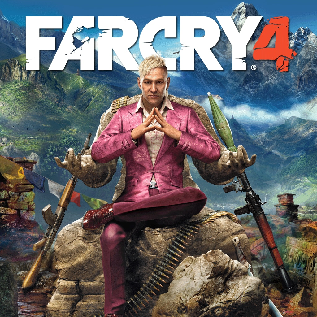 Far Cry 4 - Digital Standard Edition PlayStation®Hits (English, Korean)
