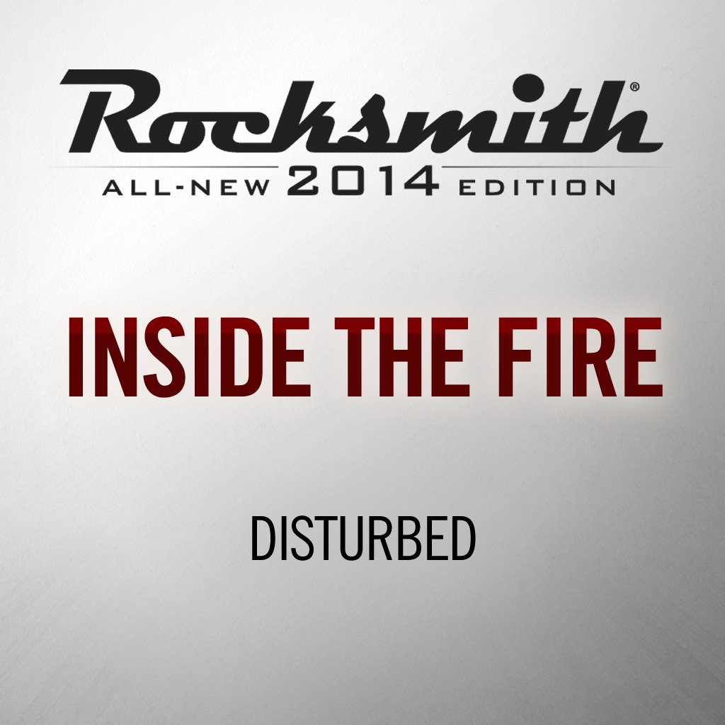 Inside the Fire - Disturbed