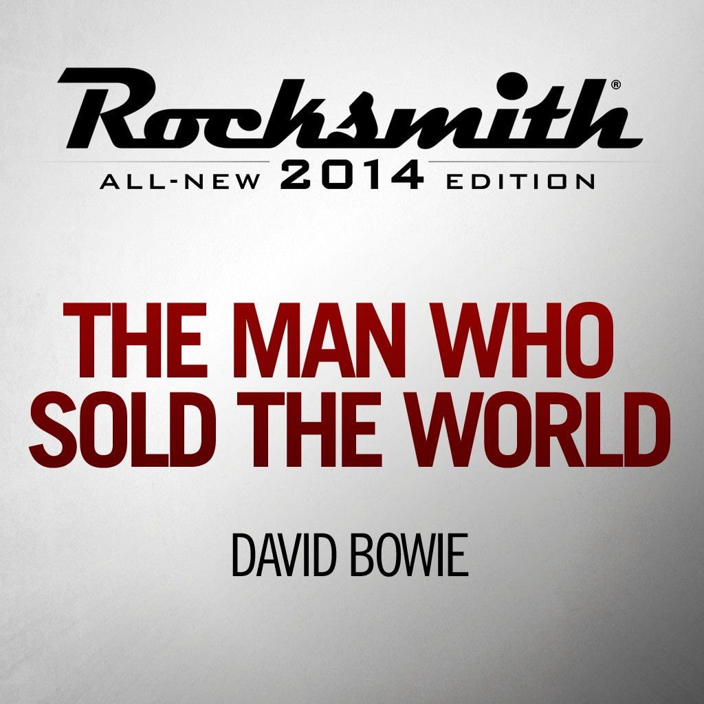 Rocksmith™ David Bowie - The Man Who Sold the World