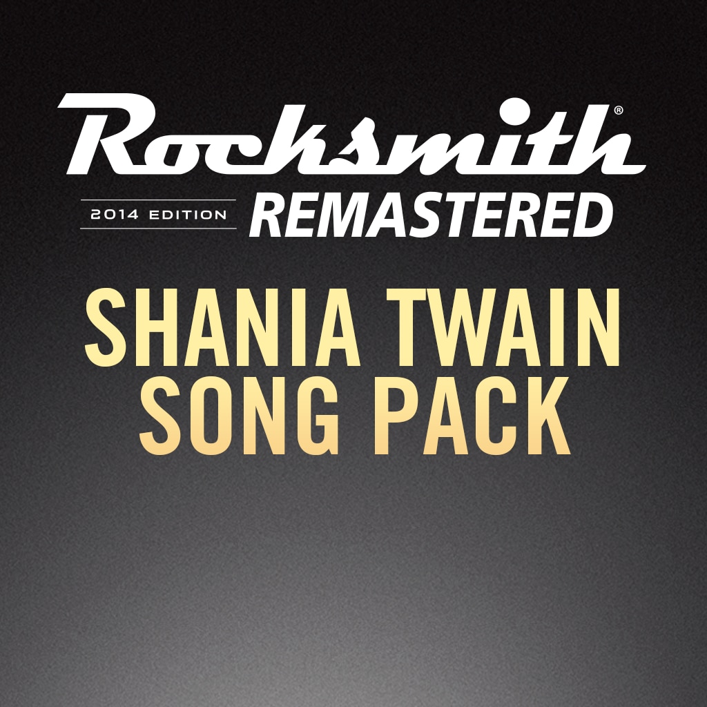 Rocksmith® 2014 – Shania Twain Song Pack
