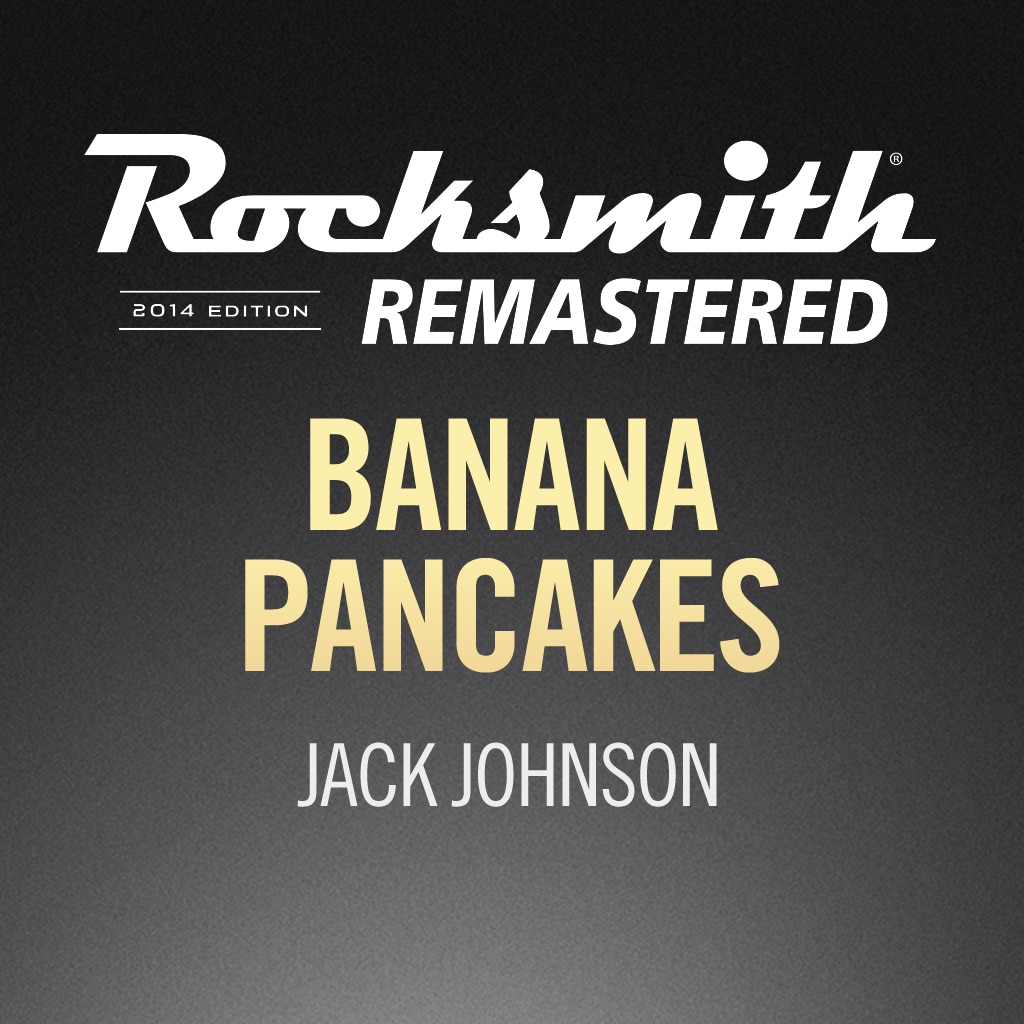 Rocksmith® 2014 – Banana Pancakes - Jack Johnson