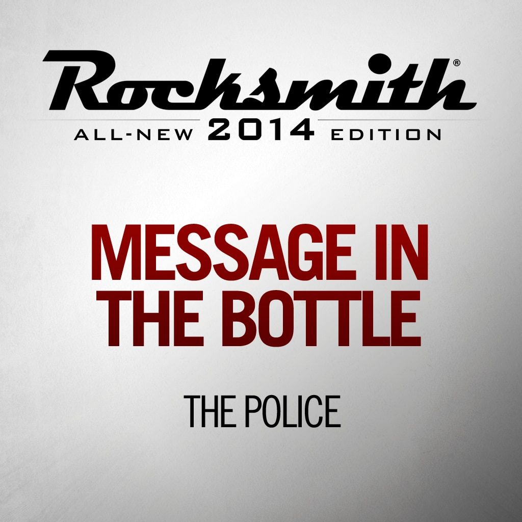 Rocksmith™ The Police - Message in a Bottle