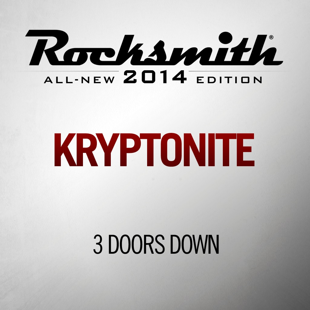 Rocksmith™ 3 Doors Down - Kryptonite
