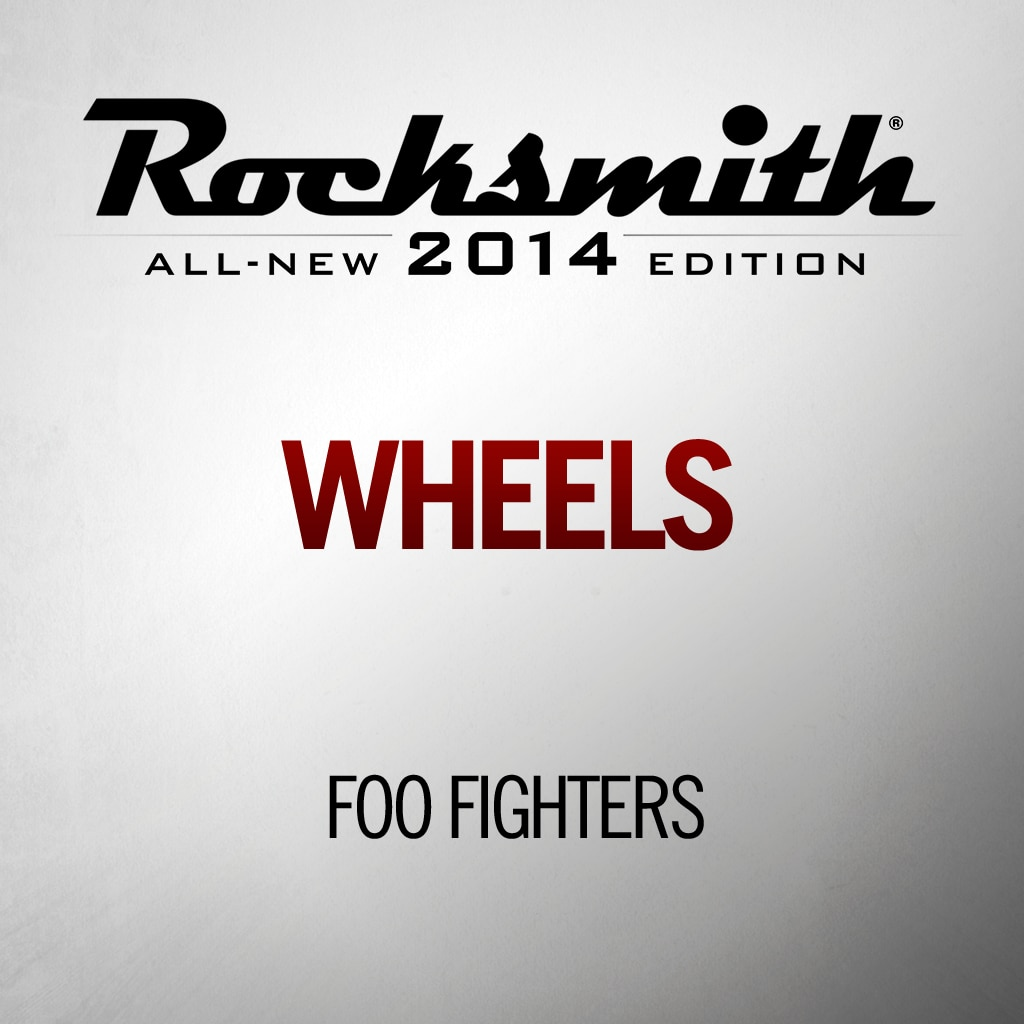 Rocksmith™ Foo Fighters - Wheels