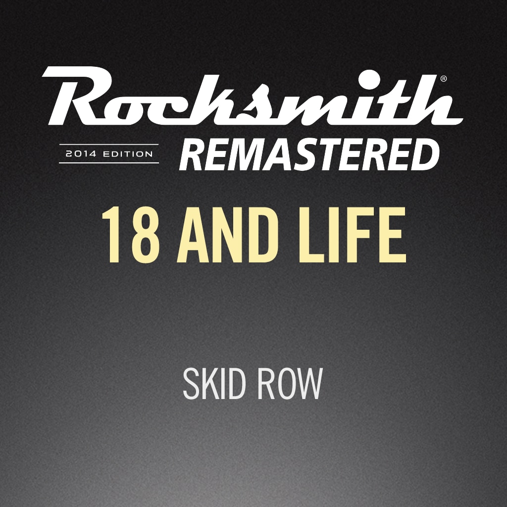 Rocksmith® 2014 – 18 And Life - Skid Row