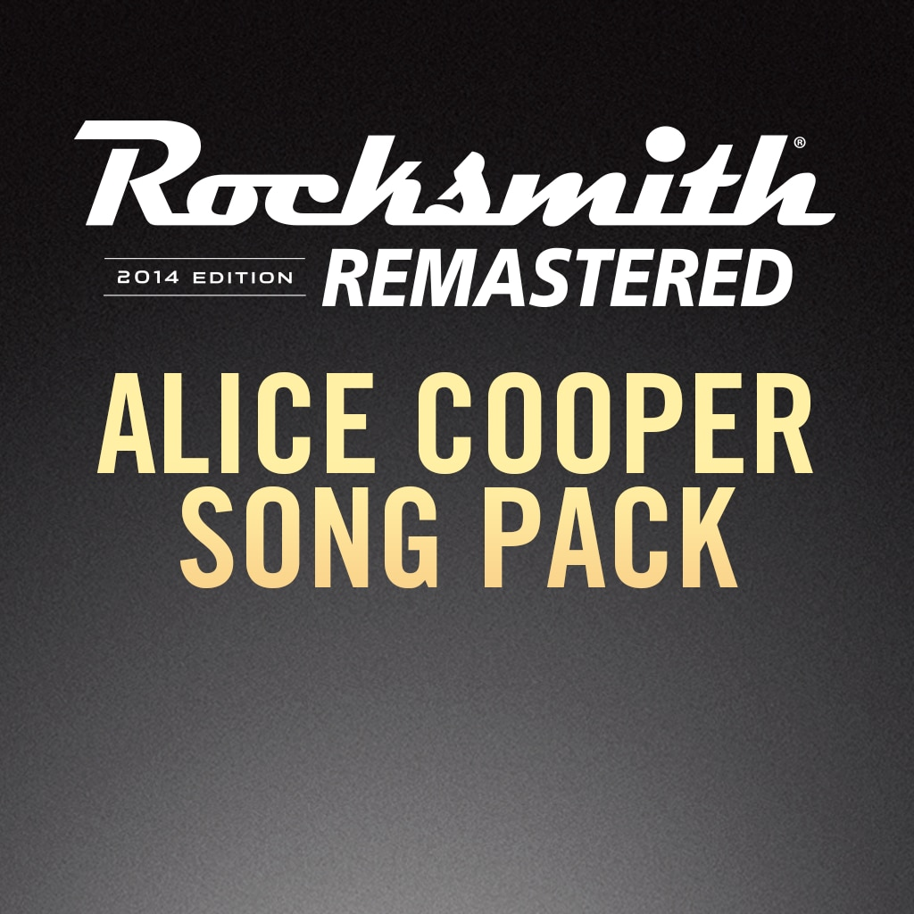 Rocksmith® 2014 – Alice Cooper Song Pack