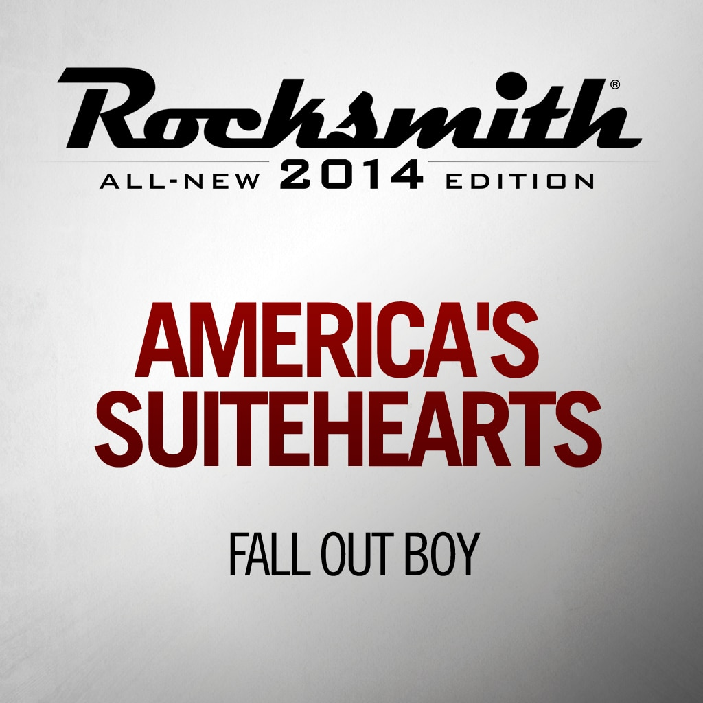 Rocksmith™ Fall Out Boy - America's Suitehearts