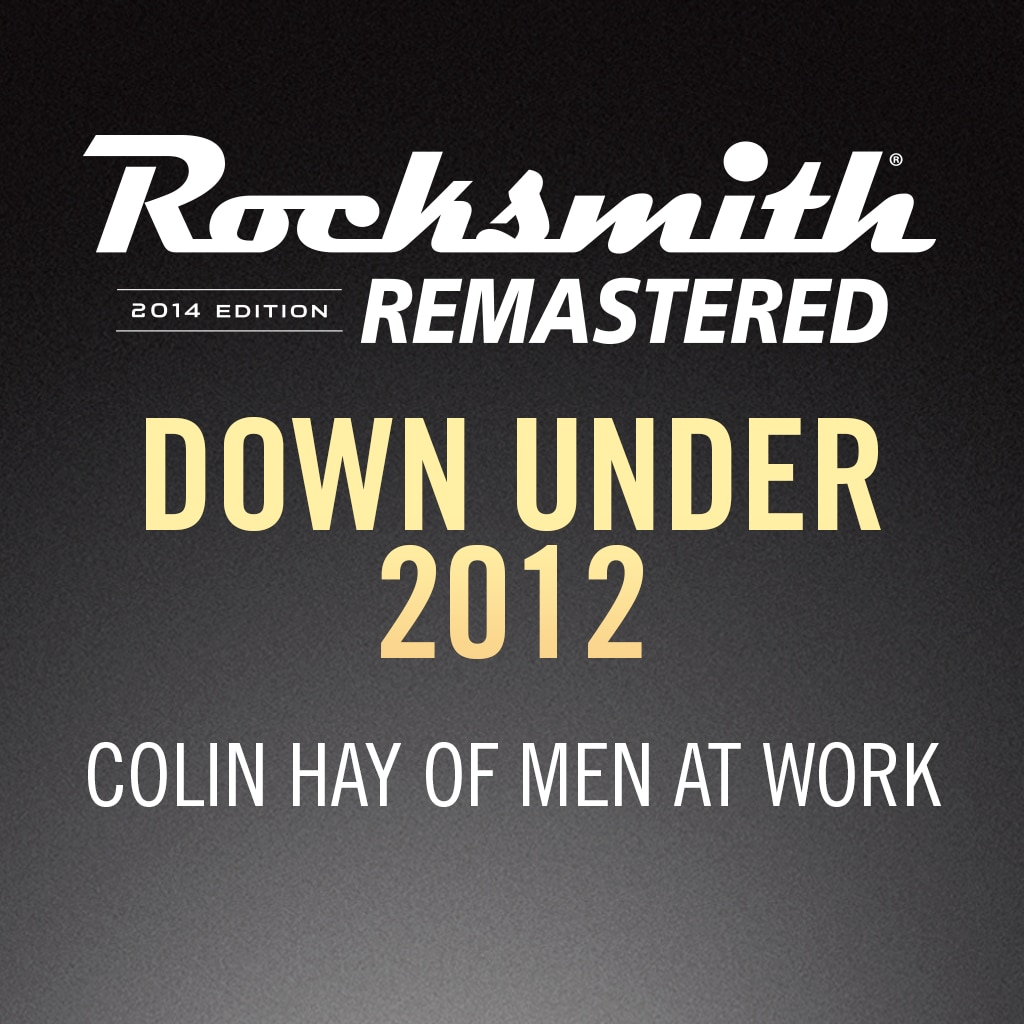 Rocksmith® 2014 – Down Under 2012 - Colin Hay of Men at Work