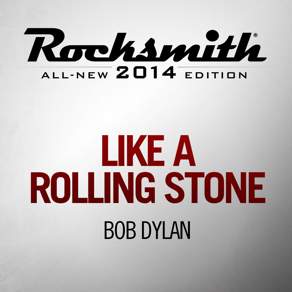 'Like a Rolling Stone' by BOB DYLAN