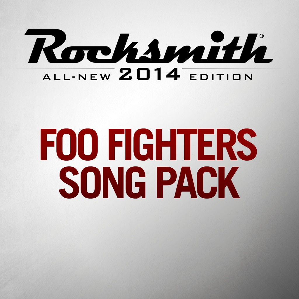 Foo Fighters Song Pack
