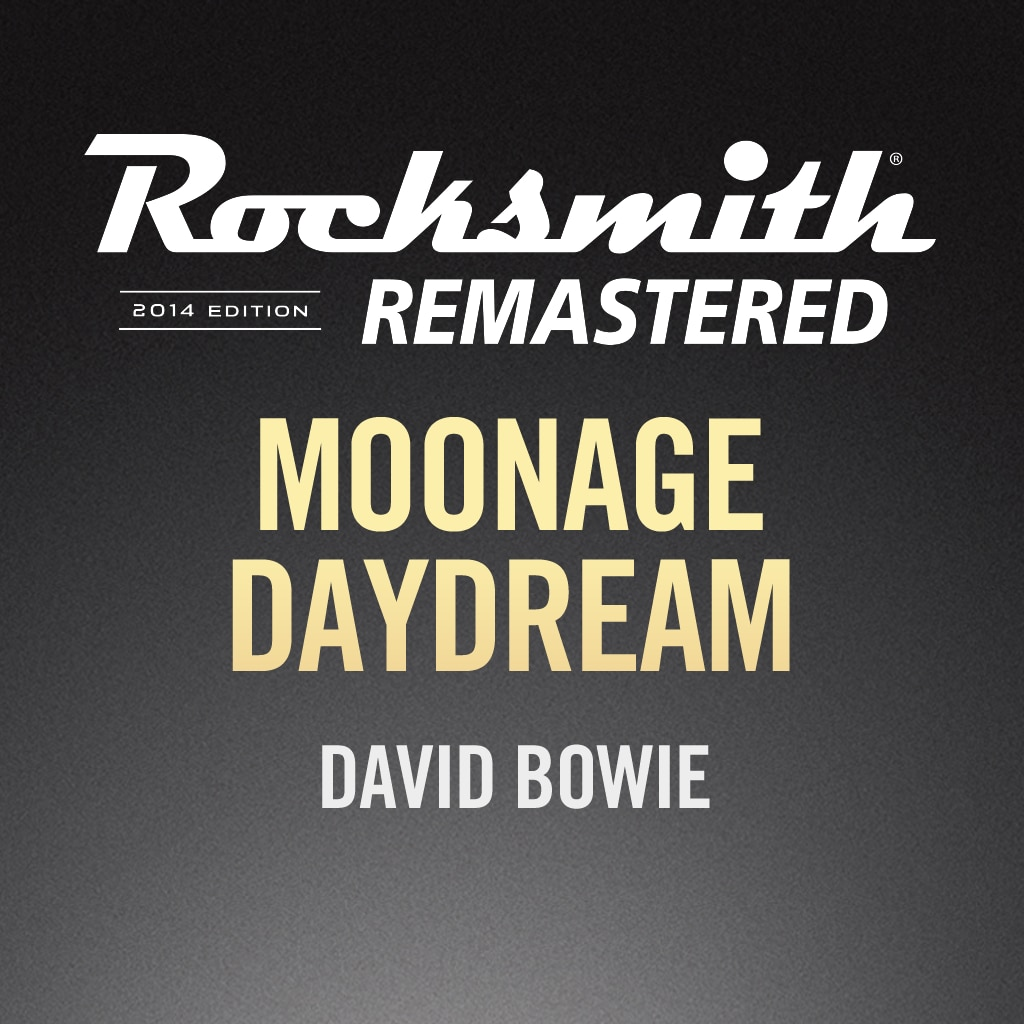 Rocksmith® 2014 – Moonage Daydream – David Bowie
