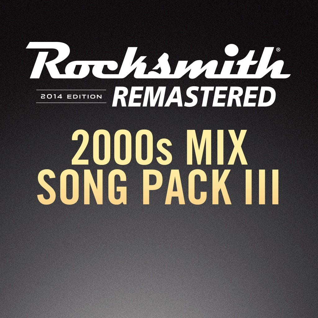 Rocksmith® 2014 – 2000s Mix Song Pack III