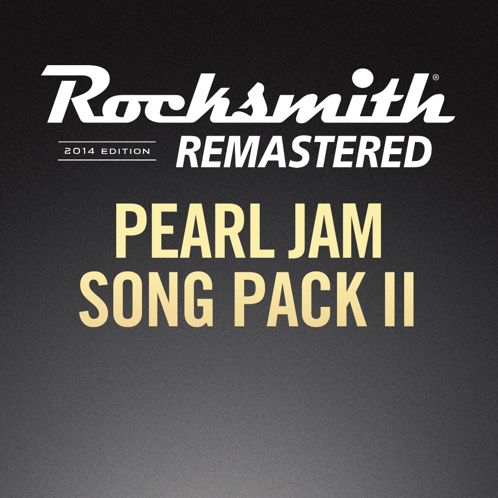 Rocksmith® 2014 – Pearl Jam Song Pack II