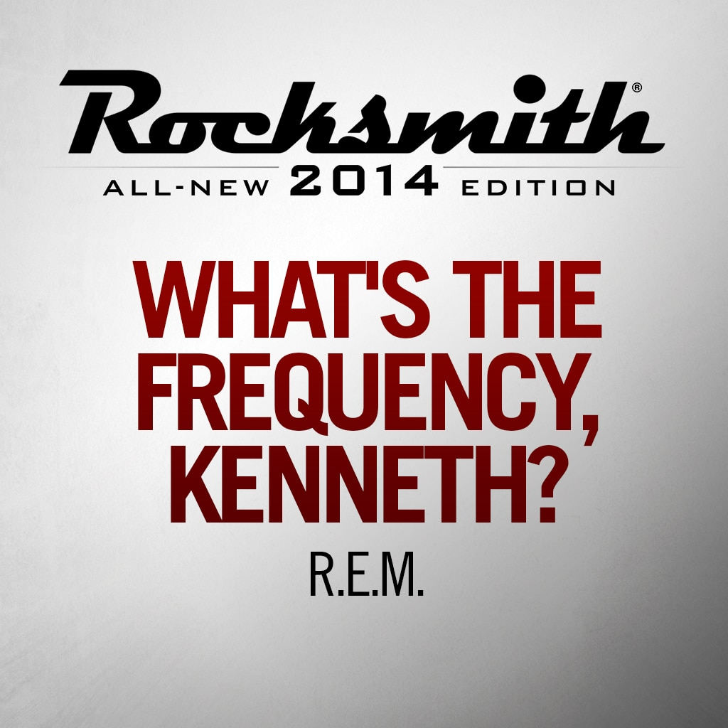 What's The Frequency Kenneth-R.E.M.