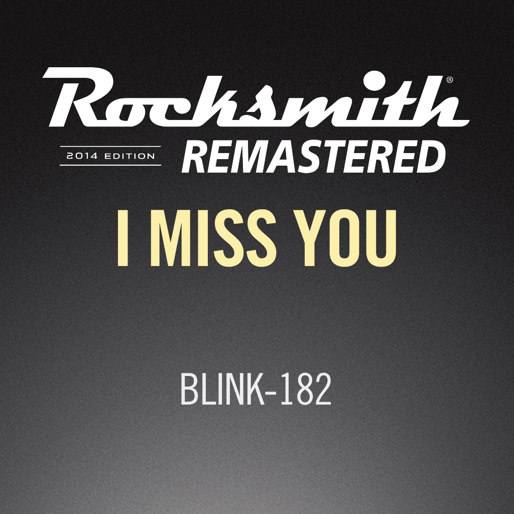 Rocksmith® 2014 – I Miss You - blink-182